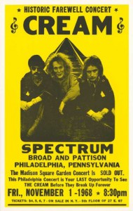 Cream at the Spectrum in Philadelphia Poster