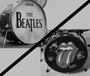beatles versus stones