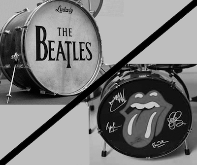 beatles versus stones