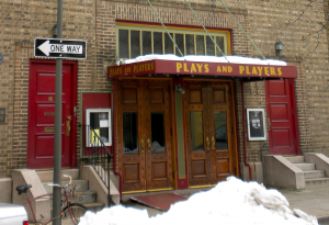 plays and players theater by amos w. barnes, architect