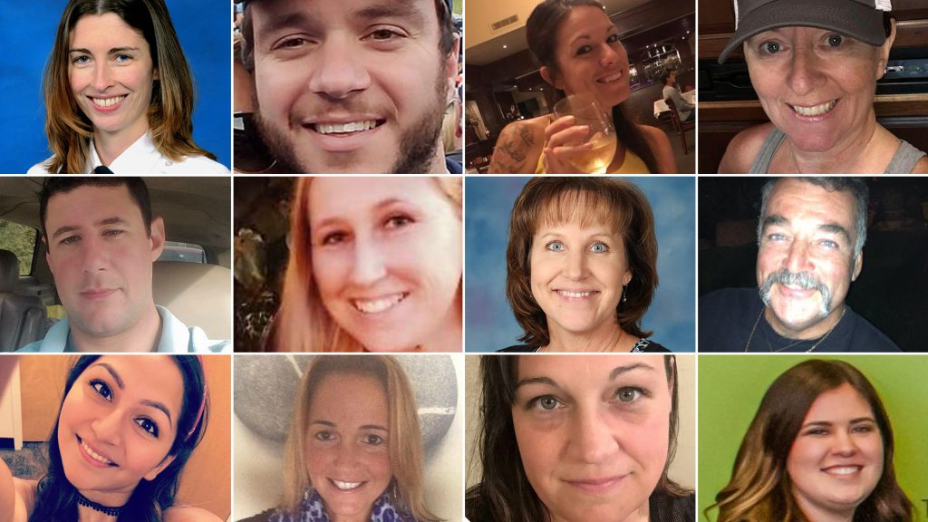 Las Vegas Victims photo from la times